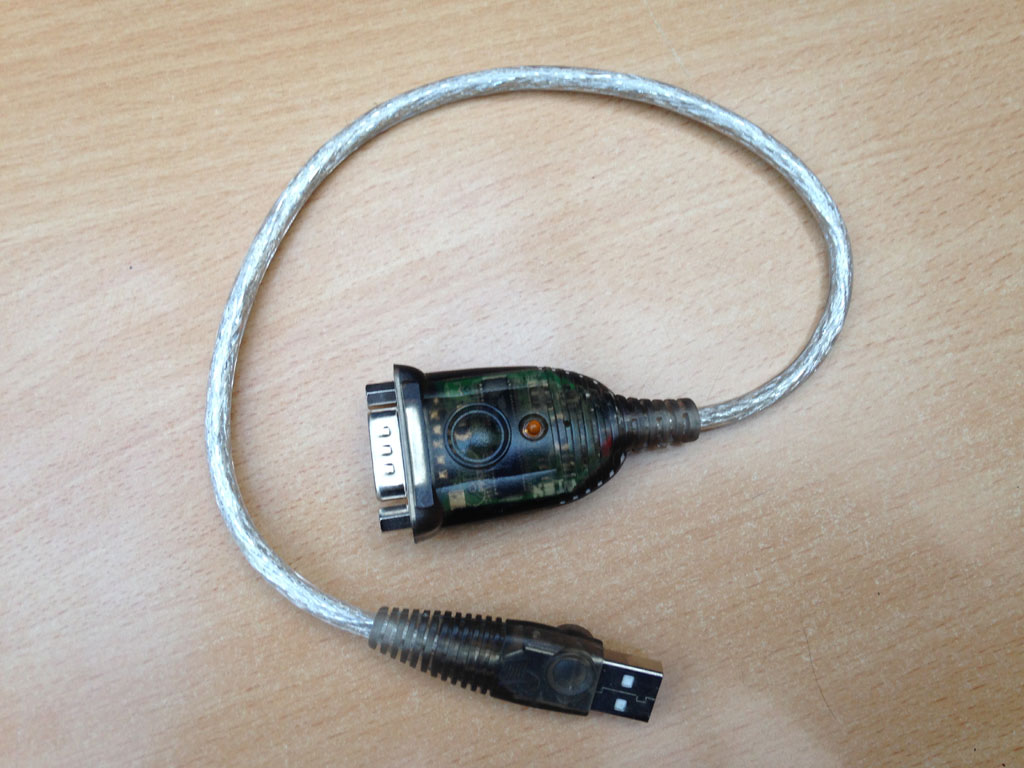 DB9 USB to Serial Adapter